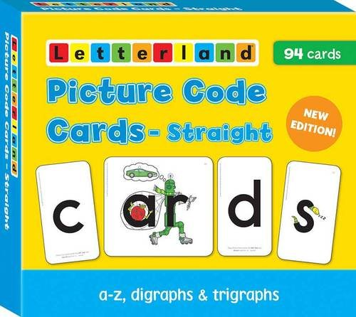Straight Picture Code Cards (Letterland S.)