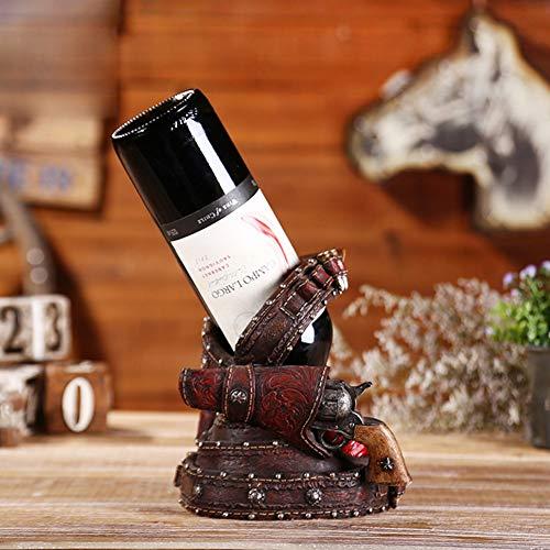 YBYDT Creative American Wine Country Resin Maker Weinregal - geeignet für Bars, Keller, Keller, Schränke, Abstellraum, etc. -