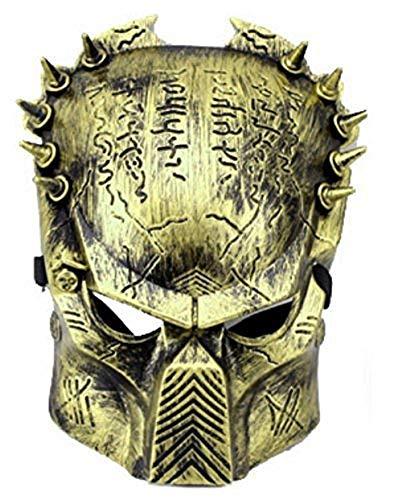 Alien Vs Predator Kinder Kostüm - Inception Pro Infinite Alien Vs Predator Mask - Bronzefarbe - Mann - Frau - Karneval - Halloween