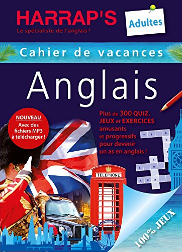 Harrap's Cahier de vacances anglais adultes