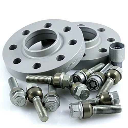 TuningHeads/H&R .0424448.DK.957161-18.996-TURBO ABE Spurverbreiterung, 36 mm/Achse + Radschrauben + Felgenschlösser, 36 mm/Achse