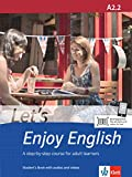 Let's Enjoy English A2.2: A step-by-step course for adult learners. Student's Book + MP3-CD + DVD