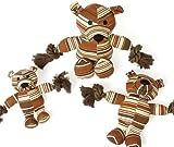"""Karlie SENIOR DOG TOY B""""r mit Seil, Spielzeug fr Hunde und Katzen"""
