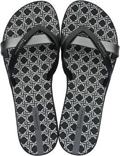 Ipanema Silk Ii, Sandales Plateforme femme Noir (noir/gris)