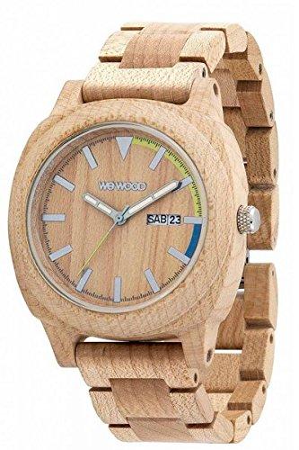 WeWood Motus orologio in legno, beige