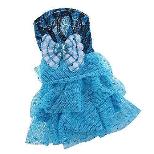 MagiDeal Schöne Puppen Kleidung T-Shirt, Hosen, Kleid, Rock Outfit für Barbie Puppe - 22 (Baby-puppe Prinzessin T-shirt)