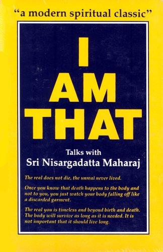 I am That: Talks with Sri Nisargadatta Maharaj por Sri Nisargadatta Maharaj