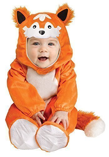Overall Halloween büchertag Kostüm Kleid Outfit 6 Monate - 2 Jahre - FOX, 6-12 Months (Kleinkind-halloween-kostüme 9 Monaten)