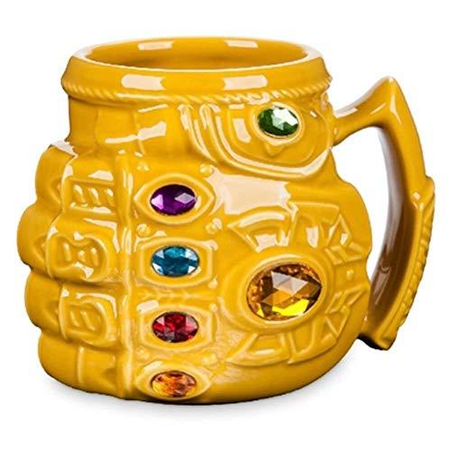Unbekannt GLVV Marvel Avengers: Unendlicher Krieg Alsos Tasse Kaffeetasse Keramik Sammlung Modell Ornamente Geburtstagsgeschenk Wasser CupA029