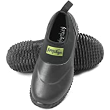 Michigan Black Neoprene Garden Muck Boots Slip On Waterproof Outdoor Shoe, Sizes UK 3 - 13