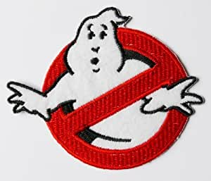 Ghostbusters Iron on Sew on Embroidered Patch Badge Applique Motif by ChewyBuy