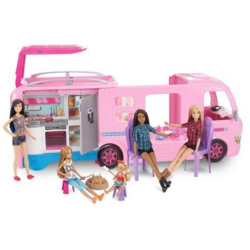 Barbie dream camper trasformare the colorato dreamcamper in un campeggio