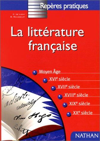 La littérature française par Cécile de Ligny