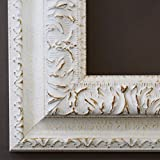 Online Galerie Bingold Holz - Bilderrahmen Rom Weiß 6,5-40x40 - WRF mit Normalglas - 100 Größen