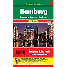 Hamburg, Stadtplan 1:10.000, City Pocket + The Big Five, freytag & berndt Stadtpläne