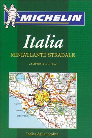 Michelin Italia Minatlante Stradale Atlas/ Italy Mini Atlas