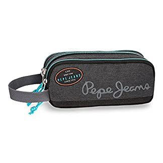 Pepe Jeans Teo Grey Carry All Three Compartments