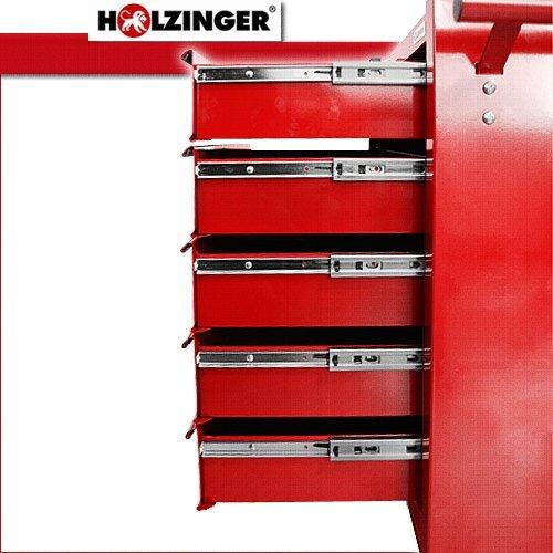 Holzinger Werkzeugwagen HWW1005KG - kugelgelagert (5 Schubfächer) - 5
