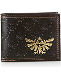 The Legend of Zelda Bi-Fold Portemonnaie, Embossed with Gold Foil Logo Bioworld
