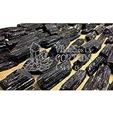 SCHWARZER TURMALIN im Rohzustand, Qualität Extra (Pack 500 g)