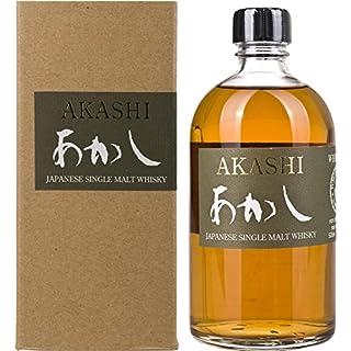 Akashi White Oak AKASHI Single Malt Whisky mit Geschenkverpackung  (1 x 0.5 l)