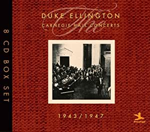 The Carnegie Hall Concerts 1943-1947 (Coffret 8 CD)