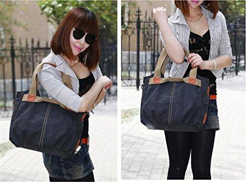 Auspicious beginning Koreanischen Stil Schalenform modische Freizeitschulterbeutel braune Handtasche Schwarz