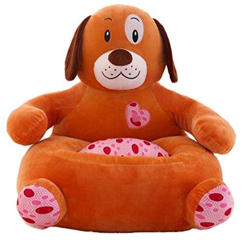 IIWOJ Kinderstuhl Plüsch Hund Kleines Sofa Mode Geschenk (Hund-tisch Kindersitz)
