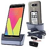 LG V20 della Caricabatterie - Stazione di caricabatteria, Atump USB 3.0 Caricabatteria da tavolo - Supporto per caricabatterie per il caricabatteria cellulare LG V20