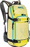 EVOC Sports GmbH Damen Protektor Rucksack FR Pro Women, Yellow/Sulphur/Petrol, 56 x 27 x 14 cm, 20 Liter