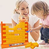 Luckstar Wall Game Building Block, Humpty Dumptys Wall Game Toy Intelligence Toy Building Block For Kids Dont Dump Dumpty