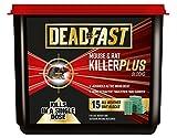Deadfast Mouse and Rat Killer Plus Poison, 15 Block - Green