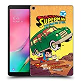 Head Case Designs Ufficiale Super Friends DC Comics Superman 1 Bambini Copertine Cartoni Animati Cover Dura per Parte Posteriore Compatibile con Samsung Galaxy Tab A 10.1 2019
