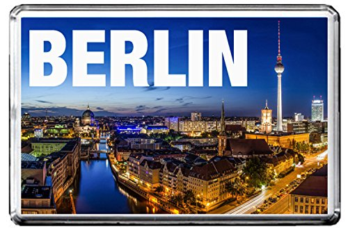 0346 BERLIN KÜHLSCHRANKMAGNET THE CITY OF GERMANY REFRIGERATOR MAGNET GERMANY LANDMARKS, GERMANY ATTRACTIONS