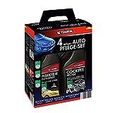 Stark 40034per auto Kit di manutenzione, 4pezzi–Detergente per cerchioni, rimuovi insetti, cabina di pilotaggio cura, Lucidatrice per auto