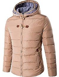 Naughtyman Manteau en coton à capuche pour hommes en hiver, manteau imperméable en coton de qualité de 2017