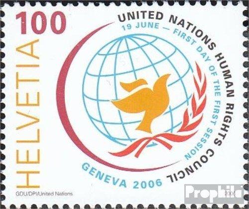 Schweiz 1977 (kompl.Ausg.) 2006 Menschenrechtsrat (Briefmarken für Sammler)