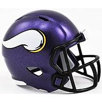 Riddell MINNESOTA VIKINGS NFL Speed POCKET PRO MICRO/POCKET-SIZE/MINI Football Helmet