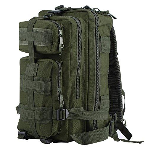 Imagen de outad   de marcha, 24 l, impermeable, 600d, diseño army green