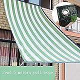 Sonnensegel Sonnenschirme Pavillons Markisen Schattennetz Markise Balkon Terrasse Gartenzubehör Kantenschliff Verschlüsselung Schatten Isolierung Es gibt ein Loch alle 1 Meter Geben Sie 5 Meter Seil z