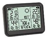 TFA Dostmann MEMO Funkwetterstation Kat.-Nr. 35.1141.01 übersichtliches Display erweiterbar auf 3 Sender