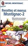 recettes et menus montignac tome 2