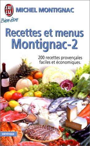 Recettes et menus Montignac, tome 2