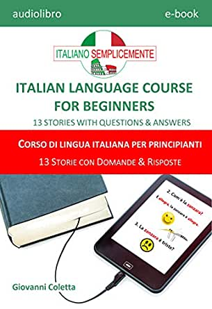 E-book - audio-book MP3 - ITALIAN LANGUAGE COURSE FOR