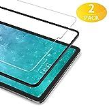 """BANNIO Verre Trempé pour iPad Pro 11"""" 2018 / iPad Pro 11 Zoll 2018,[2 Pièces] Film Protection écran en iPad Pro 11 Zoll 2018,HD Transparent,Dureté 9H,Anti Rayures,sans Bulles,avec Kit d'Installation."""