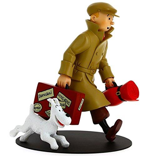 Figura de colección en resina Tintín y Milú ils arrivent !! 21cm 46948 (2017)