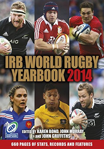 IRB World Rugby Yearbook 2014 : British Lions Tour Review Edition by Karen Bond (4-Nov-2013) Paperback