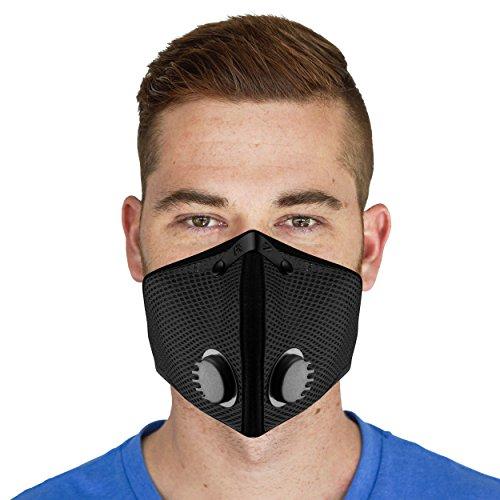 Der GüNstigste Preis Frauen Männer Unisex Erwachsene Pm2.5 Anti-staub Maske Baumwolle Atmungsaktiv Mund Gesicht Carbon Filter Atemschutz Maske Durchsichtig In Sicht Masken
