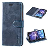 Mulbess Nokia 7 Plus Case Wallet, Leather Flip Phone Case
