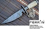 Benutzerdefinierte handgemachte damast Jagdmesser